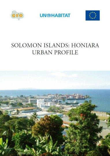 Solomon Islands: Honiara Urban Profile