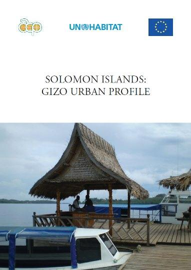 Solomon Islands: Gizo Urban Profile